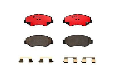 For Honda Crosstour Acura RDX Brake Pad Set with Clips Shims Rear Brembo P28051N