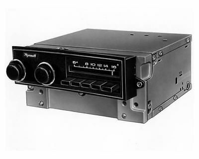 1972 Plymouth Fury AM Radio Factory Photo uc3873-SBGZY2