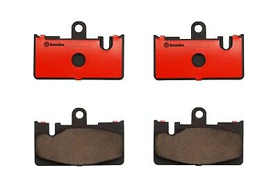 Front Disc Brake Pads Brembo Ceramic Slotted for Lexus LS430 Base 01-06