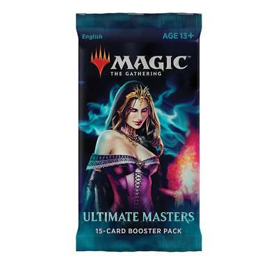 MTG Ultimate Masters Booster Packs Magic The Gathering New & Sealed