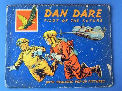"Dan Dare Vintage 1953 ""pilot Of The Future"" Pop Up Book From The Eagle Comic"