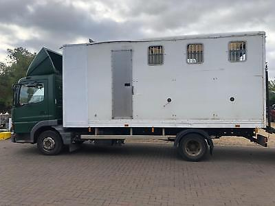 HORSEBOX 7.5 ton MERCEDES ATEGO LORRY Damaged repairable