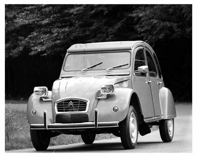 1970 Citroen 2CV Factory Photo uc6965