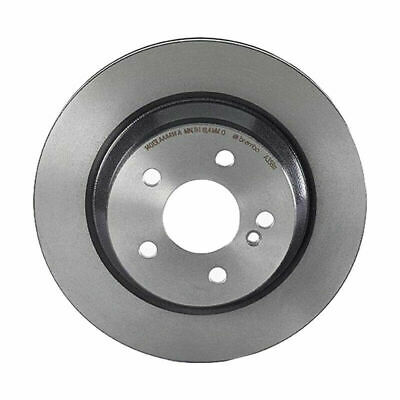 For Mercedes W210 W211 W212 Rear Left /&Right Set Solid Brake Disc Rotors Genuine
