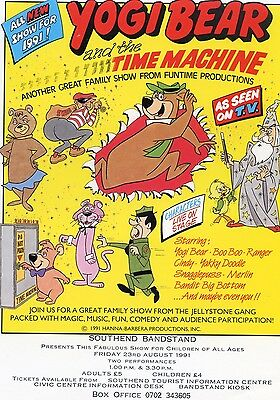 YOGI BEAR Theatre Flyer Handbill