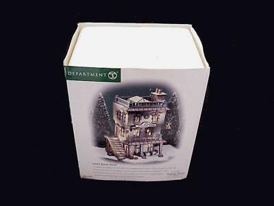 Dept 56 Dickens Heritage Village Series Leed's Oyster House #56-58446