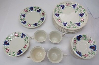 VINTAGE Henry FORD Greenfield VILLAGE CHINA Iroquois SET OF 21