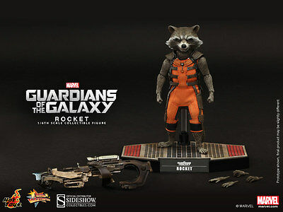 Hot Toys Guardians of the Galaxy Masterpiece Series Rocket Raccoon 1/6 Scale