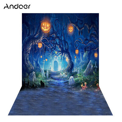 Andoer 1.5 * 2m Photography Background Backdrop Digital Printing Hallowmas F3W6