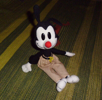 ANIMANIACS Looney Tunes Yakko plush cartoon stuffed toy doll Dakin vintage 10""