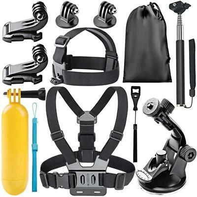 Neewer 10084345 8-In-1 Action Camera Accessory Kit for GoPro Hero...