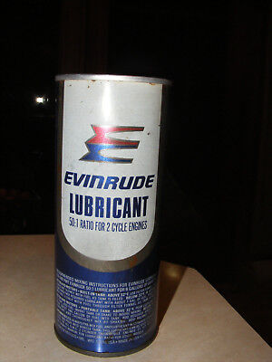 VINTAGE EVINRUDE 50/1 lubricant for 2-cycle outboard engines