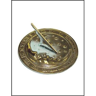 Rome Industries 2312 Brass Moon and Stars Sundial