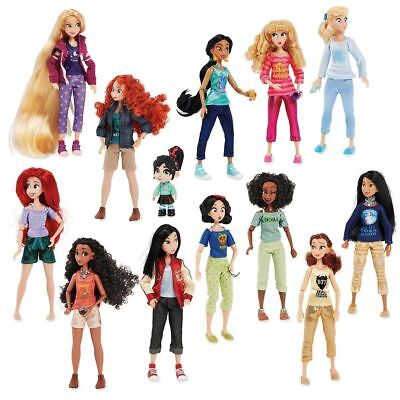Disney Princess Dolls from Ralph Breaks the Internet - Set of 13