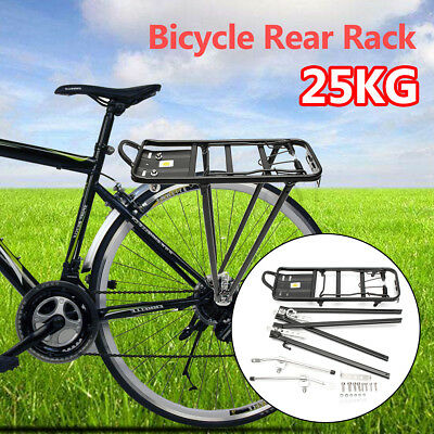LARGE 50KG Carry Bike Rear Seat Rack Bicycle Post Pannier Outdoor Cycling Alloy