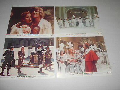 The Three Musketeers Raquel Welch Michael York   8 Original Mini Lobby Cards