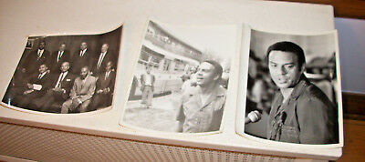 Three Vintage Civil Right Photos Operation Push  - Andrew Young - Chicago