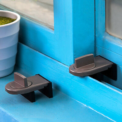Sliding Window Anti-theft Lock Stopper Baby Safety Protection For Cabinet Doors