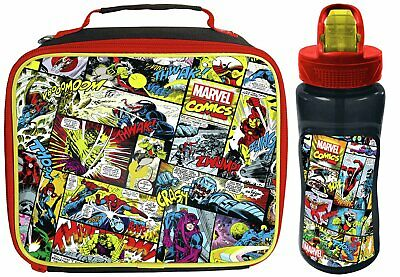 Avengers Lunch Bag and Bottle.