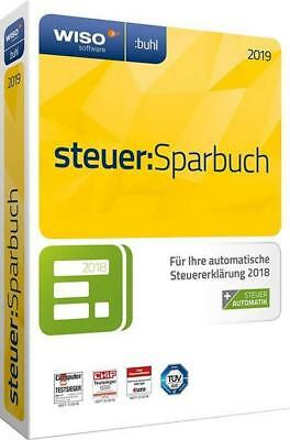 WISO steuer-Sparbuch 2019 (inkl. Steuerratgeber) (CD-ROM)