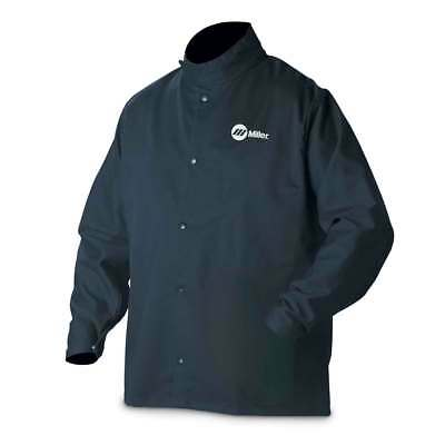 Miller 2X-Large 244754 Welding Jacket Industrial Cloth