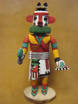 "Hopi Indian Hand Carved ""Hey-Hey-A"" Kachina by Deloria Adams! Native"