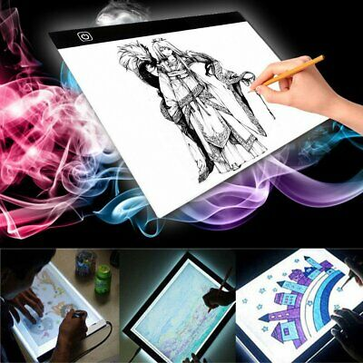 A3/A4 LED Light Box Tracing Drawing Board Art Design Copy Pad Lightbox Day&Light
