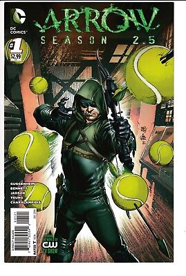 ARROW SEASON 2.5 #1, IVAN REIS VARIANT, DC Comics (2014)