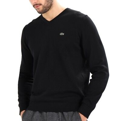 Noir – Pull 3 Rond Eur Lacoste Taille Homme 45 Col S wRqqTapx