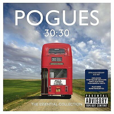 POGUES CD x 2 30:30 The Essential Collection Best Of 2013 New Fiesta Fairytale