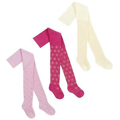 Babies Cotton Rich Textured Patterned Tights