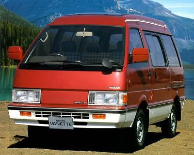 1988 Nissan Homy Vanette Wagon Factory Photo c1638-A69MDG
