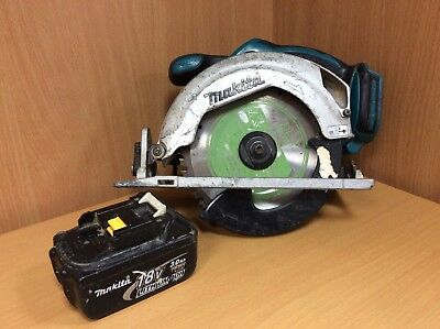 MAKITA BSS611 18V CIRCULAR SAW WITH 18V 3.0Ah BATTERY *USED CONDITION*