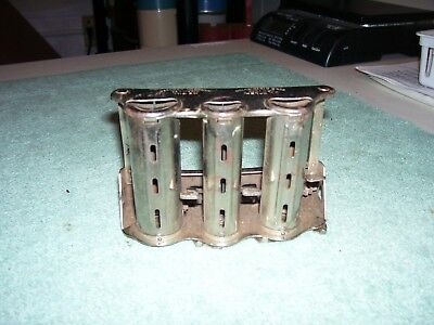 Old Vtg Metal McGill Paragon Changer Coin Dispenser Money Made In The USA