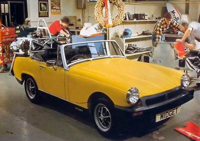 1978 MG Midget Factory Photo c3434-U8GJ2P