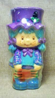 80's Strawberry Shortcake Blueberry Muffin Character Candle American Greetings