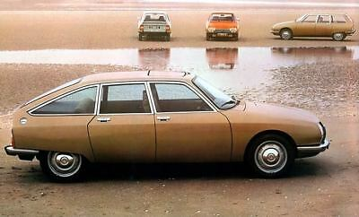 1979 Citroen GS Factory Photo c4227-ODNP39