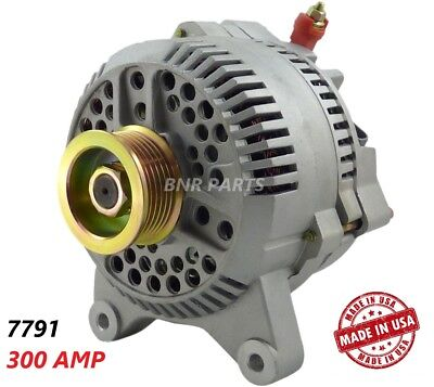 300 Amp 7791 Alternator Ford Lincoln NEW High Output Performance HD MADE IN USA