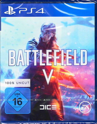 Battlefield V - Battlefield 5 - PlayStation 4 PS4 - Neu & OVP - Deutsche Version