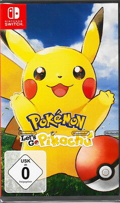 Pokémon: Let´s Go, Pikachu! - Nintendo Switch - NEU & OVP - Deutsche USK Version