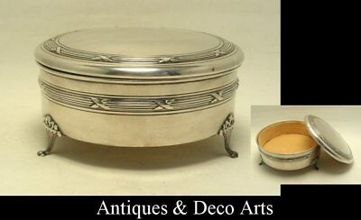Antique Silver-plated Box with Velvet Lining