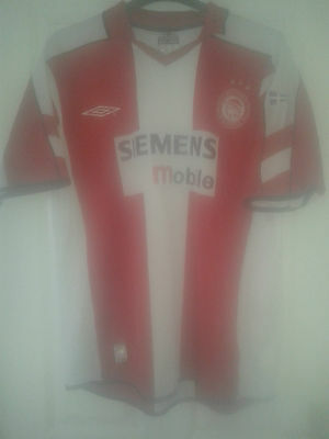 Mens Football Shirt - Olympiacos Olympiakos - Greece - Home 2003-04 - Umbro - XL