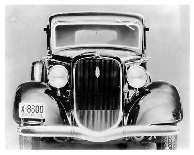 1934 Plymouth DeLuxe Factory Photo c4999-PHTDGZ
