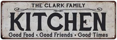 The Clark Family Personalized Red Game Room Metal Sign 106180038158