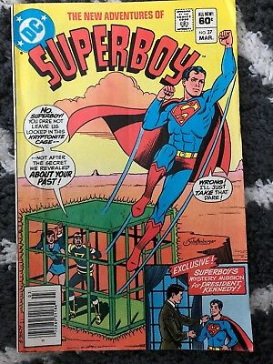 Superboy The New Adventures #27  John F. Kennedy  Dc  1982