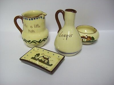 Five Pieces Of Motto Ware ,excellent Condition No Imperfections