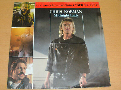 "7"" Chris Norman (Smokie ) : Midnight Lady"