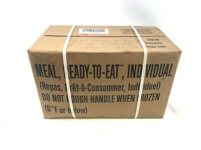 Military MRE 2020 Inspection, Meals Ready to Eat, Case A