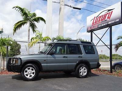 2004 Land Rover Discovery Land Rover Discovery II S 2004 Low 54K Miles Land 2004 Land Rover Discovery II ONLY 54,000 ACTUAL MILES FLORIDA NO RUST!