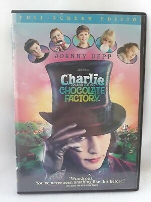 Charlie and the Chocolate Factory (Full Screen Edition) by Roald Dahl DVD